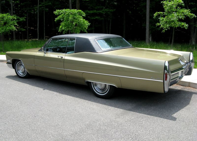 1968 Cadillac Coupe Deville – Affordable Clics