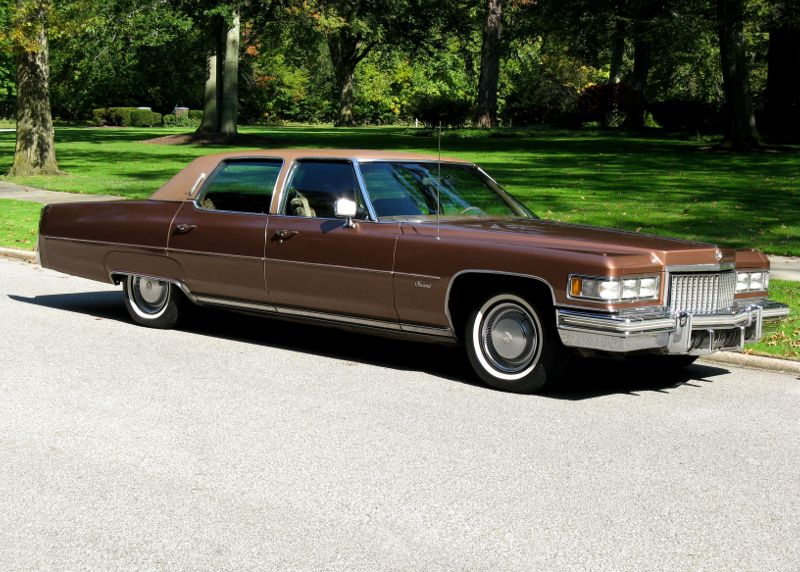 1975 Cadillac Fleetwood Brougham For Sale – Affordable Classics