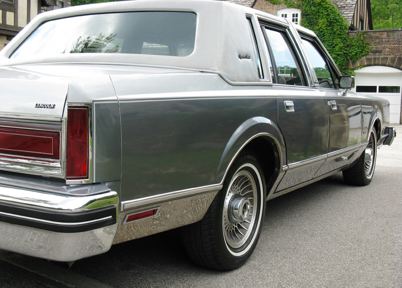 1984 Lincoln Town Car Signature Series For Sale Affordable Classics