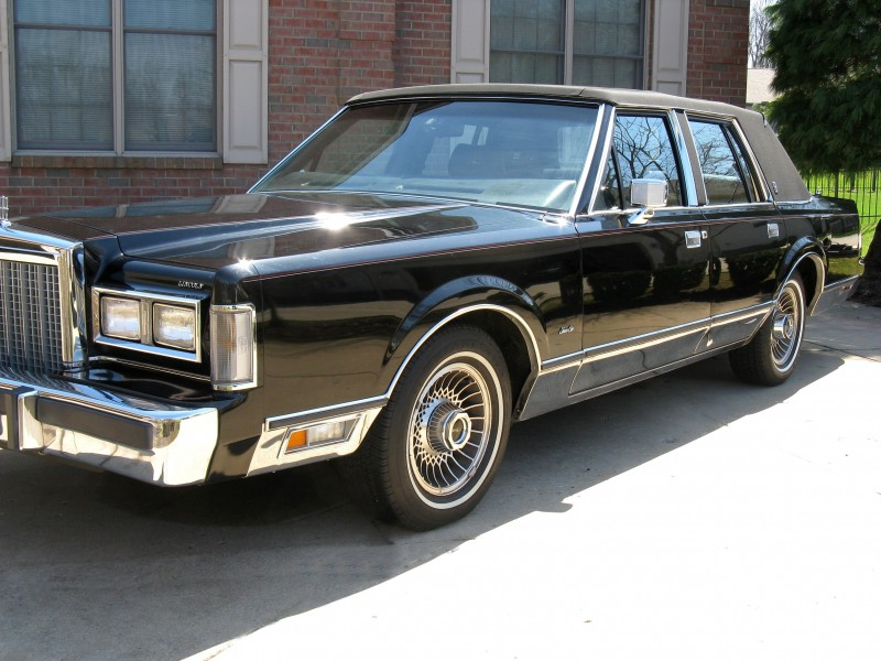 1986 Lincoln Town Car Signature Series For Sale Acm Classic