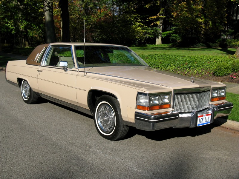 1980 Cadillac Fleetwood Brougham Coupe For Sale Acm