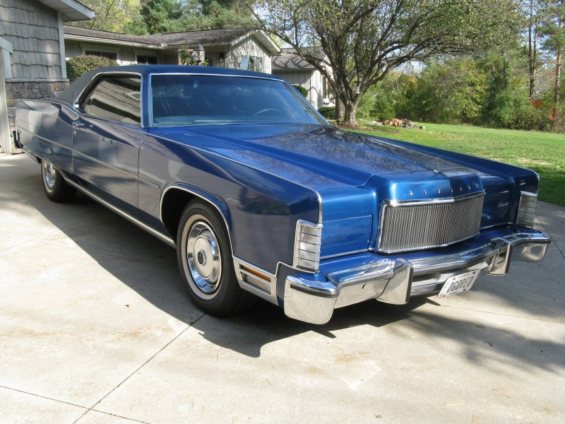 1974 Lincoln Continental Coupe For Sale Acm Classic