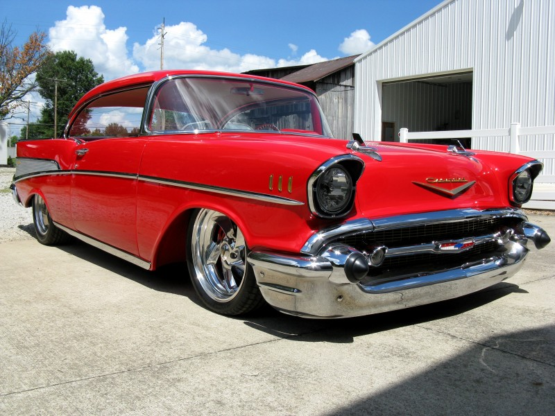1957 Chevrolet Bel Air Restomod For Sale – ACM Classic