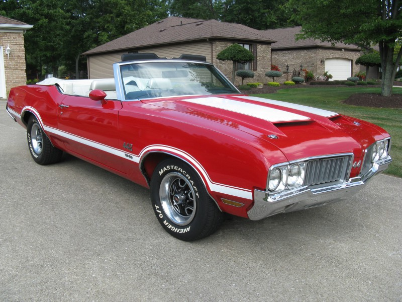 1970 Oldsmobile 442 W-30 Convertible For Sale – ACM Classic