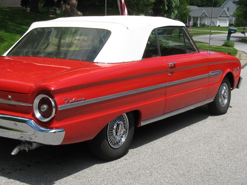 1963 Ford Falcon Sprint Convertible For Sale - ACM Classic ...